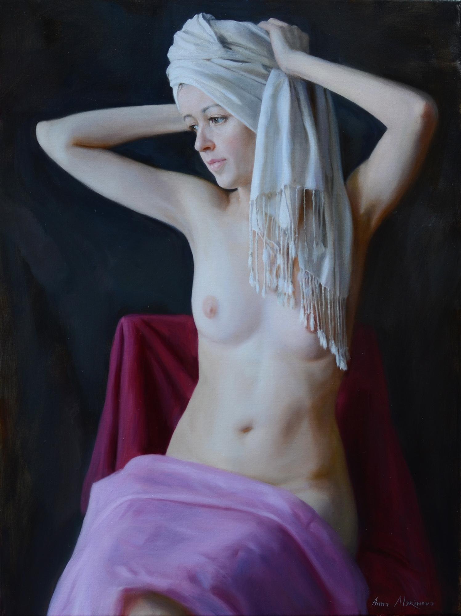 White turban/Белый тюрбан