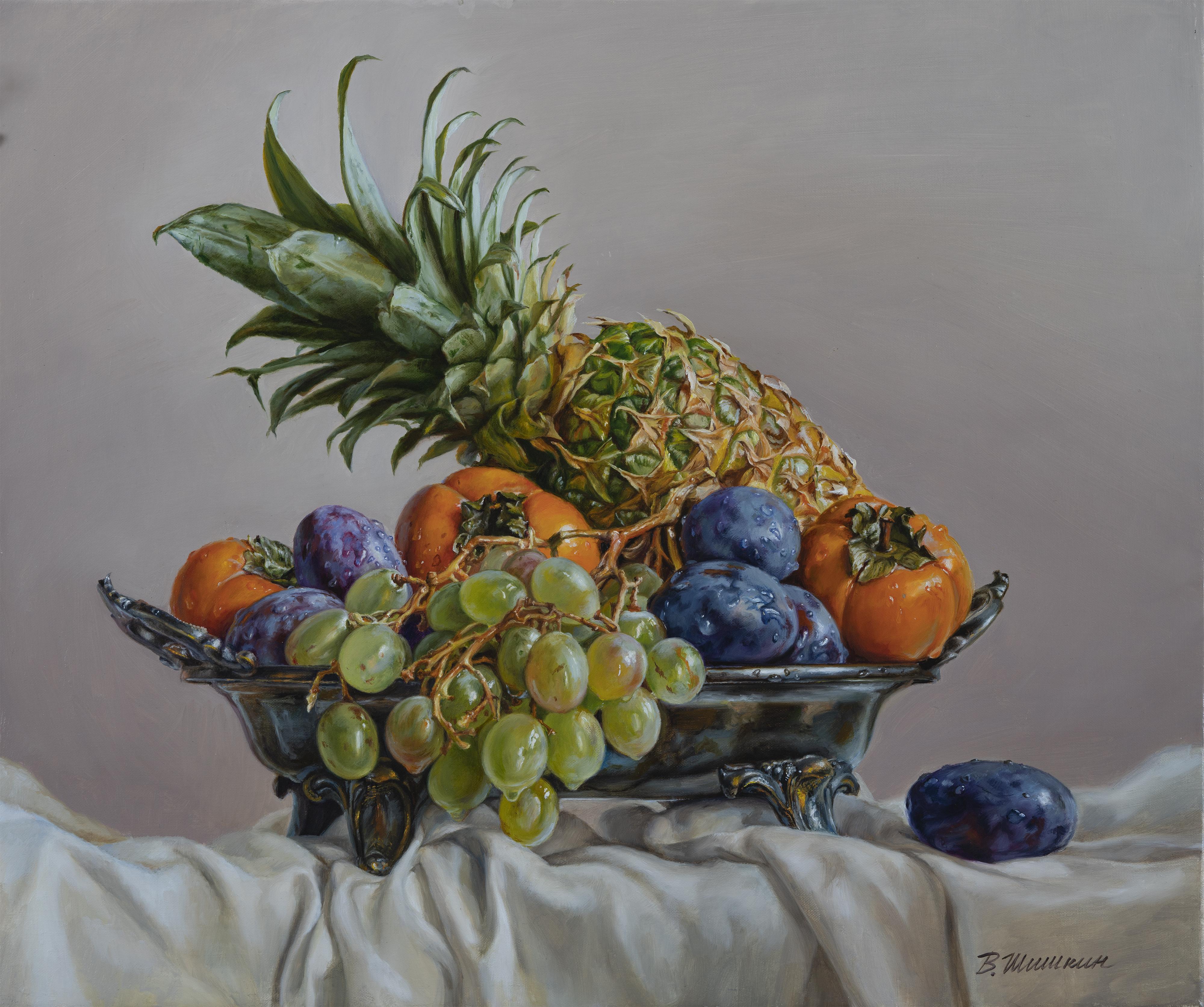 Fruit in a vase