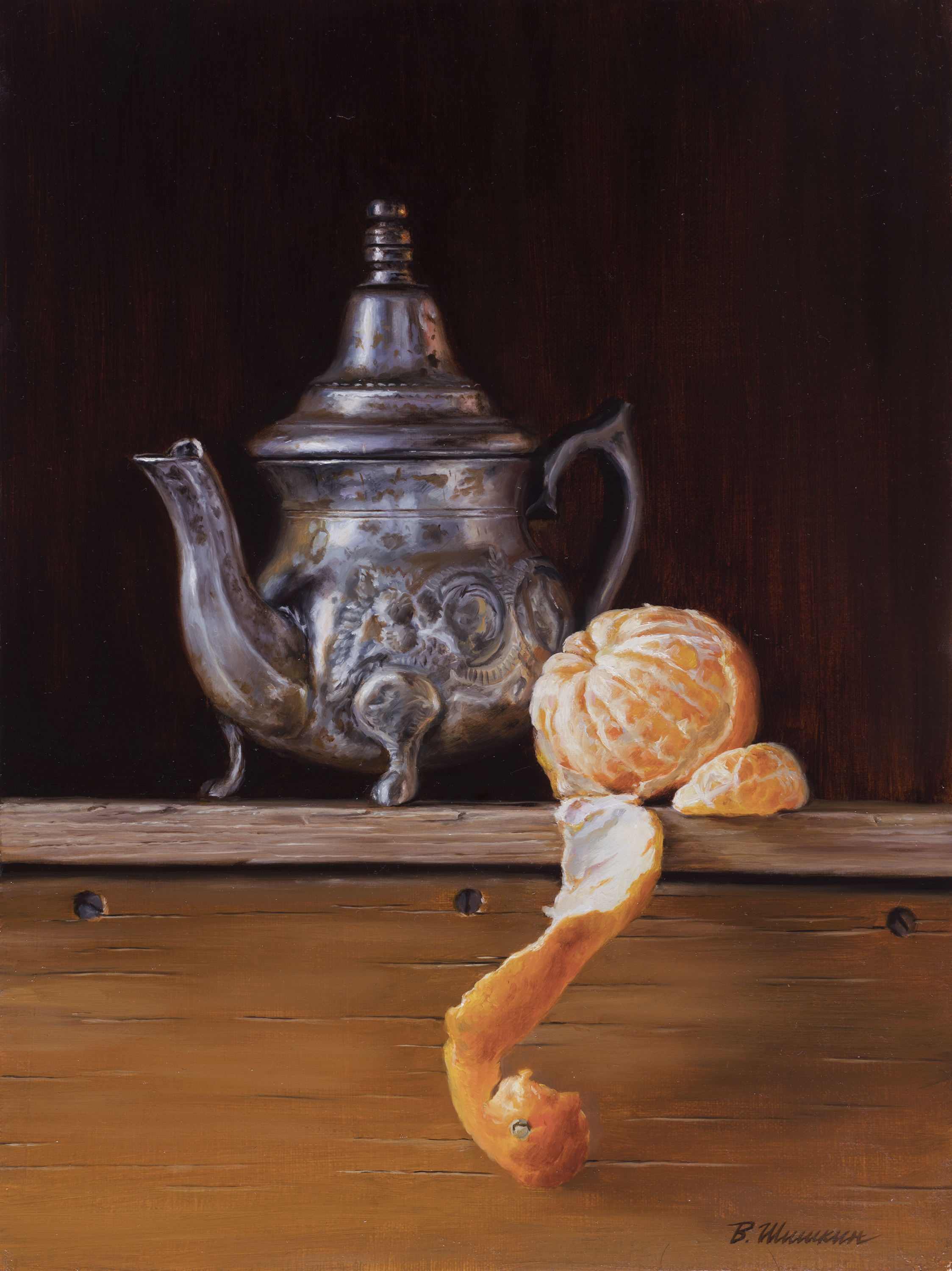 Teapot with Mandarin