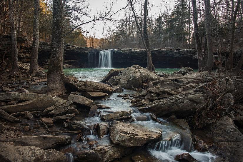 Falling Waterfall