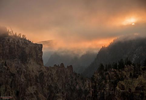 Sunrise at Grand Canyon of Yellowstone