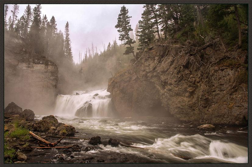 Firehole Canyon Waterfall