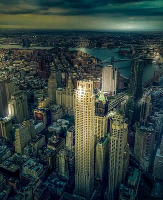 New York Bird's Eye View