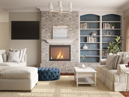 4 Tips on How to Clean Your Fireplace Surround