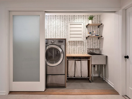 10 Small (But Mighty) Laundry Stations For An Easier Washday