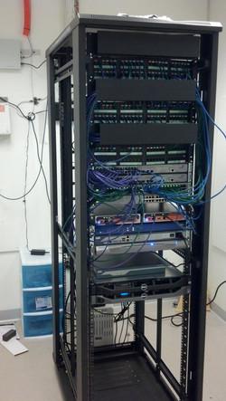 rack setup