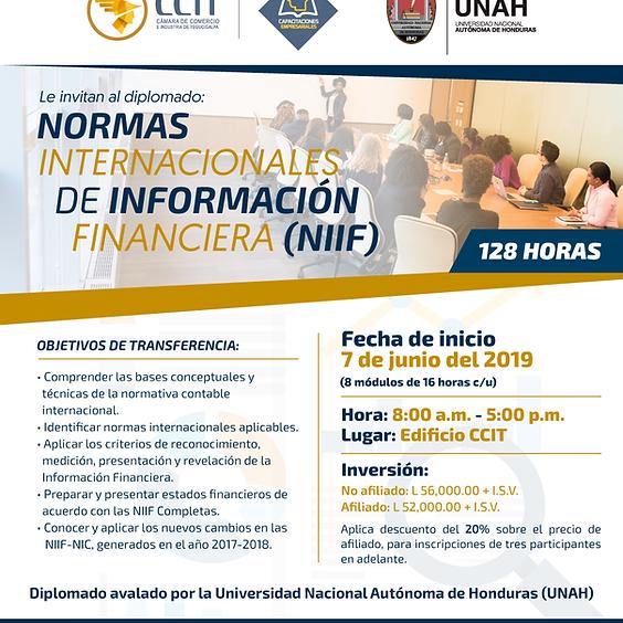 DIPLOMADO: NORMAS INTERNACIONALES DE INFORMACIÓN FINANCIERA- NIFF