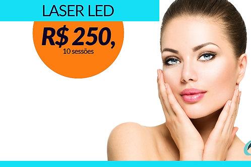 Flacidez Revitalização | Laser LED - Fotobiomodulação 10 sessões