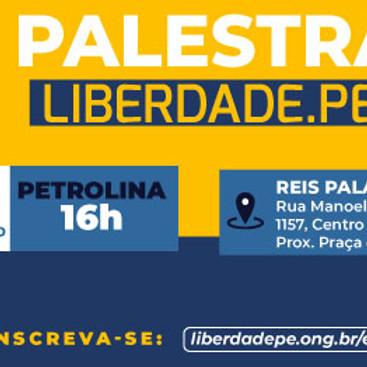 Palestra Ong Liberdade.PE