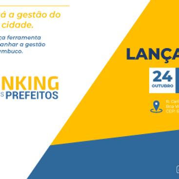 Lançamento Ranking dos Prefeitos de Pernambuco