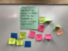 Cross Pollination Post-its 2 - Sprint 3.