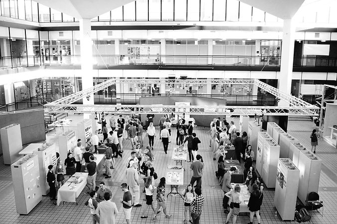 view of rapson hall during portfolio event