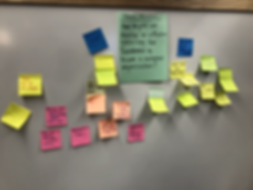 Cross Pollination Post-its - Sprint 3.HE