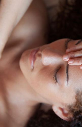 massage and reiki treatment