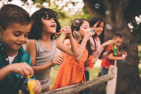Bambini spensierati grazie al gioco