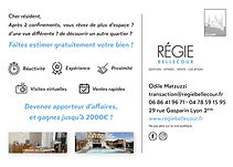 Flyer Régie Bellecour Carte Postale copi