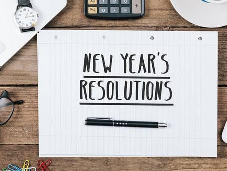 Les bonnes résolutions 2020