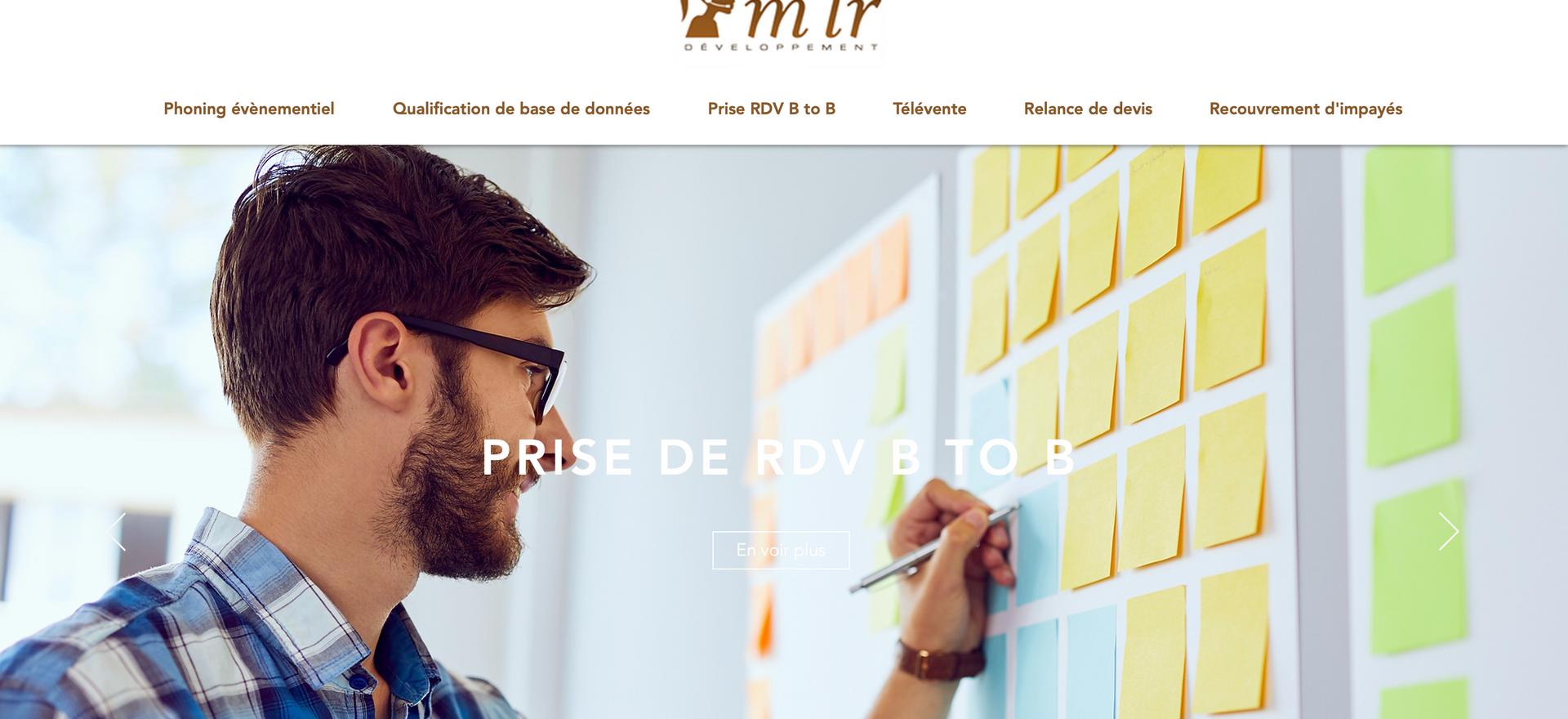 Sitr M'lr Développement I Centre d'Appel Lyon