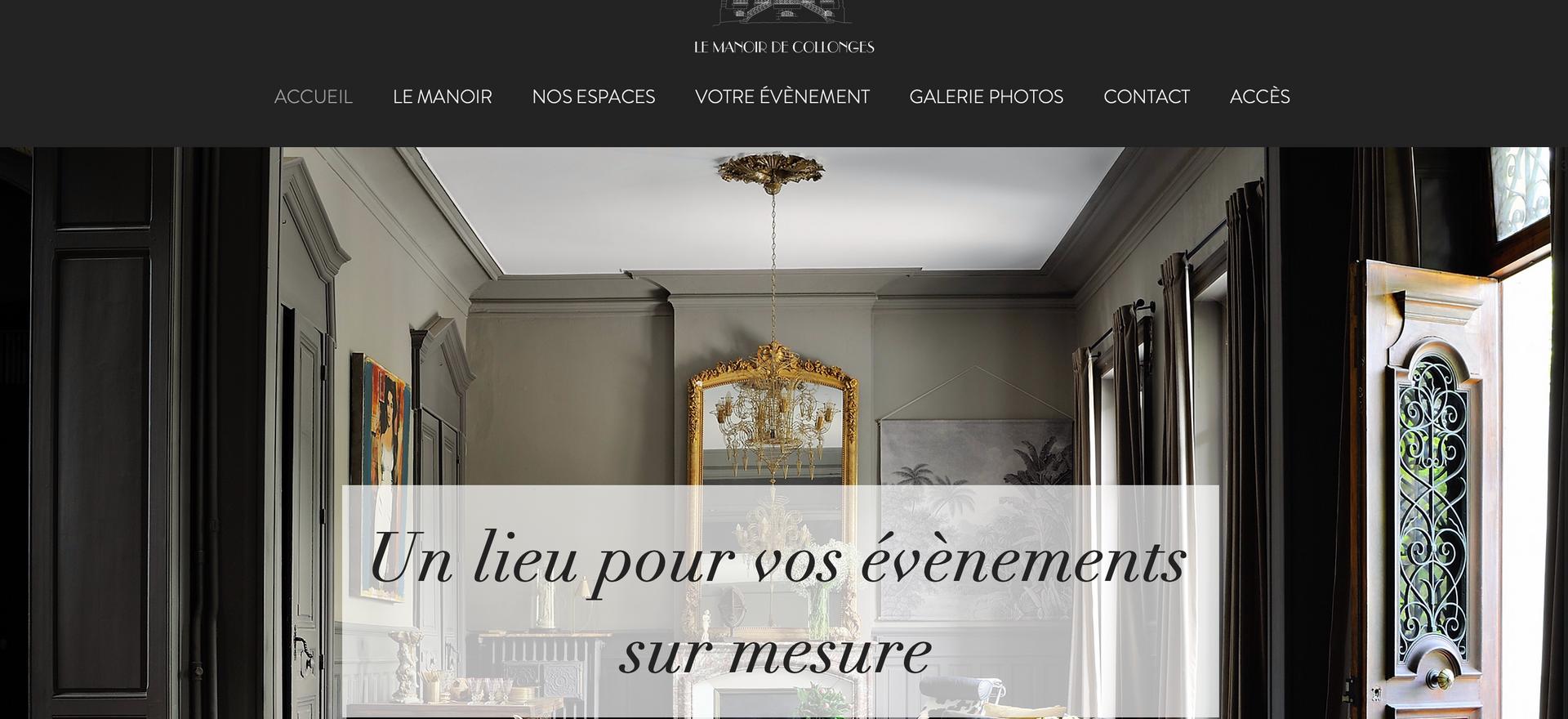 Site Le Manoir de Collonges