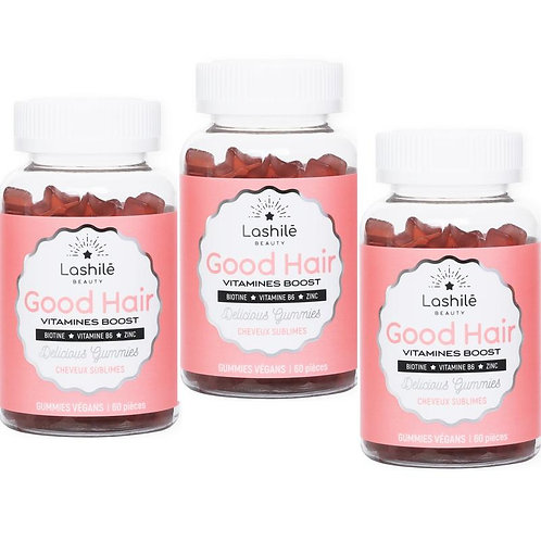 Lashilé vitamines Boost - Cure 3 mois