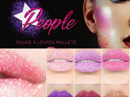 People Glitter, la révolution des rouge-à-lèvres