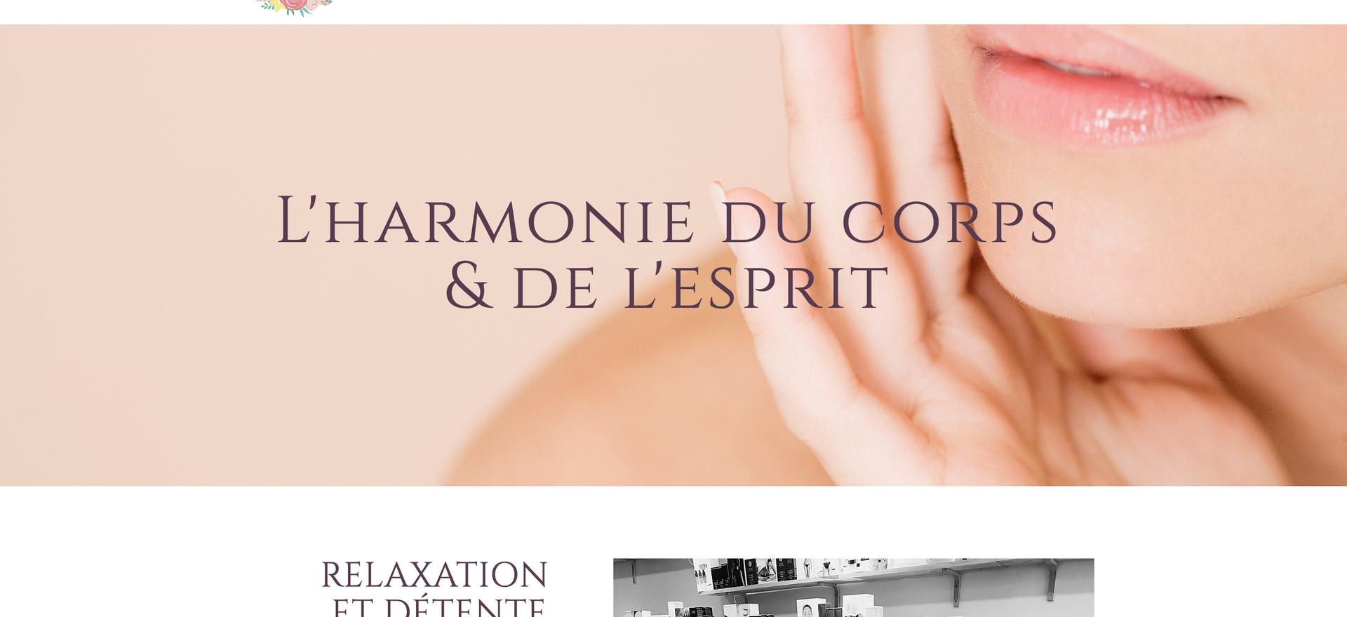 Site Beauté Originelle I Institut Spa Charmes