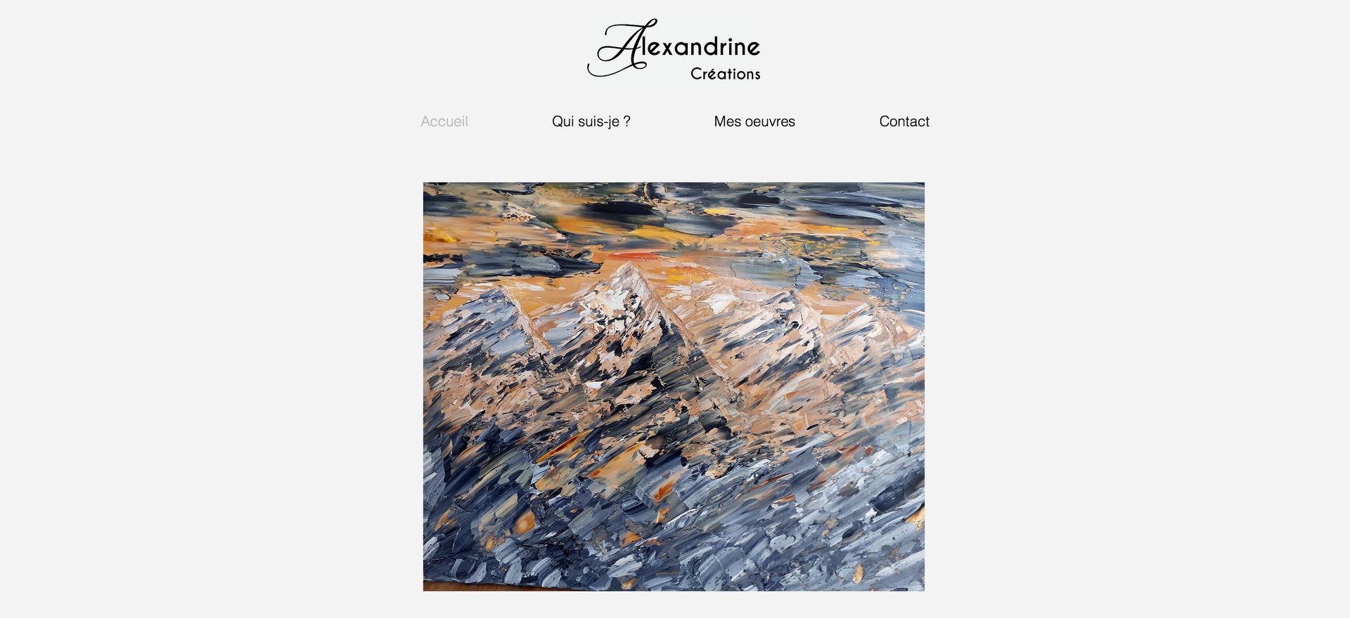 Site Alexandrine Bondoux