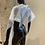 Thumbnail: Capes Coloration Transparentes à Lacets 30 ex