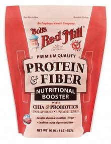אבקת חלבון טבעוני ללא גלוטן בטעם טבעי
