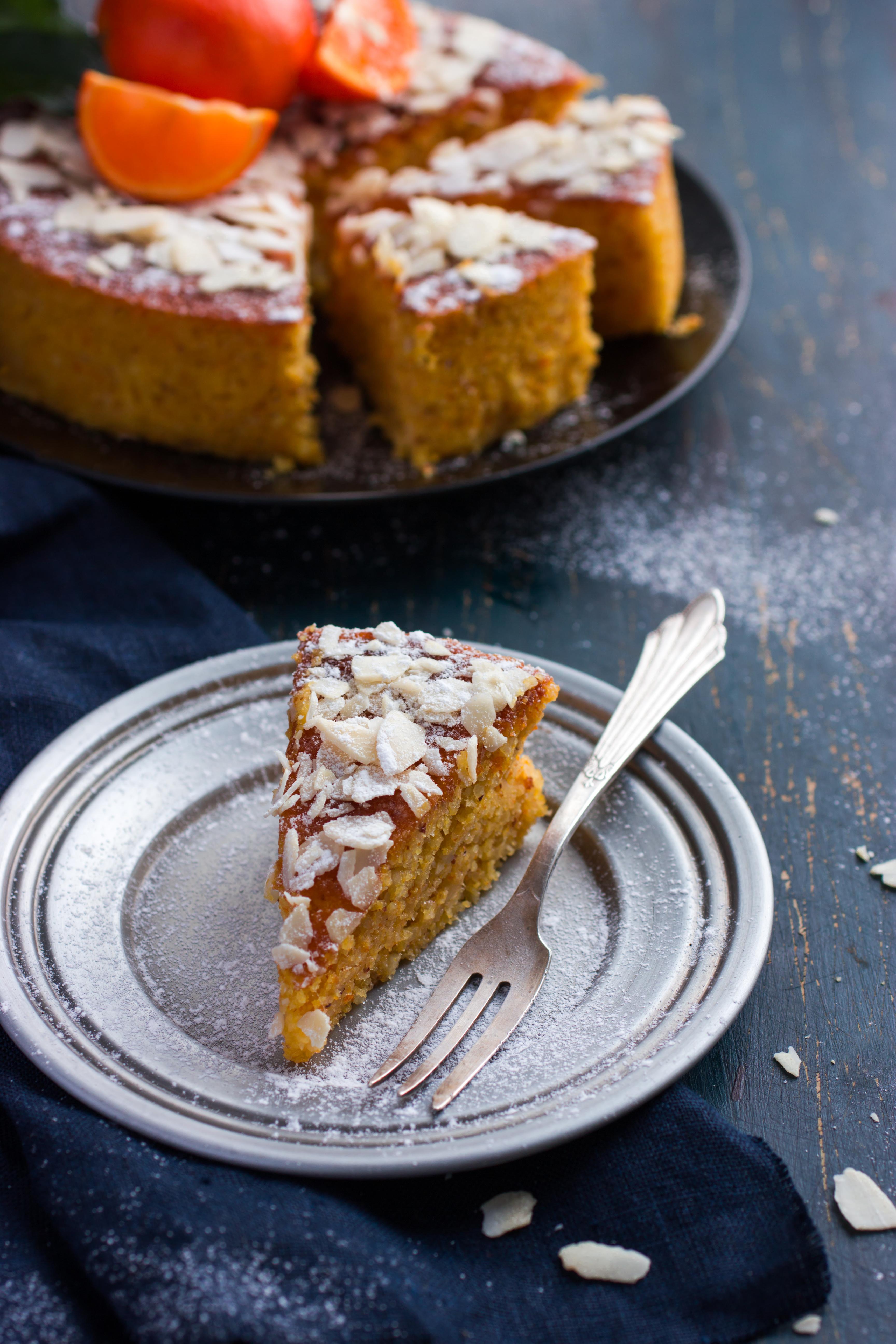 עוגה עם קמח קוקוס