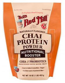 אבקת חלבון טבעוני מומתק באופן טבעי