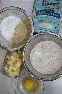 הכנת בצק פריך ללא גלוטן
