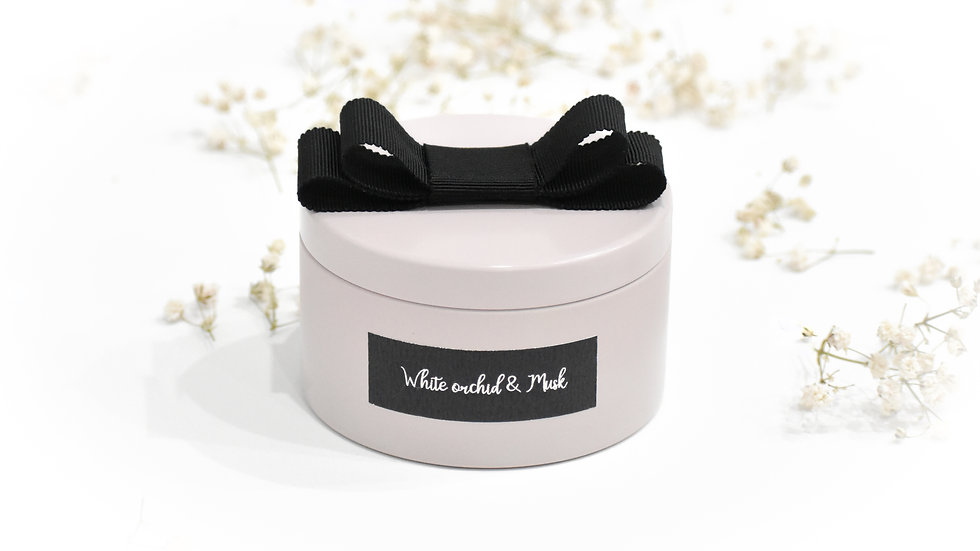 White Orchid & Musk Mini Candle