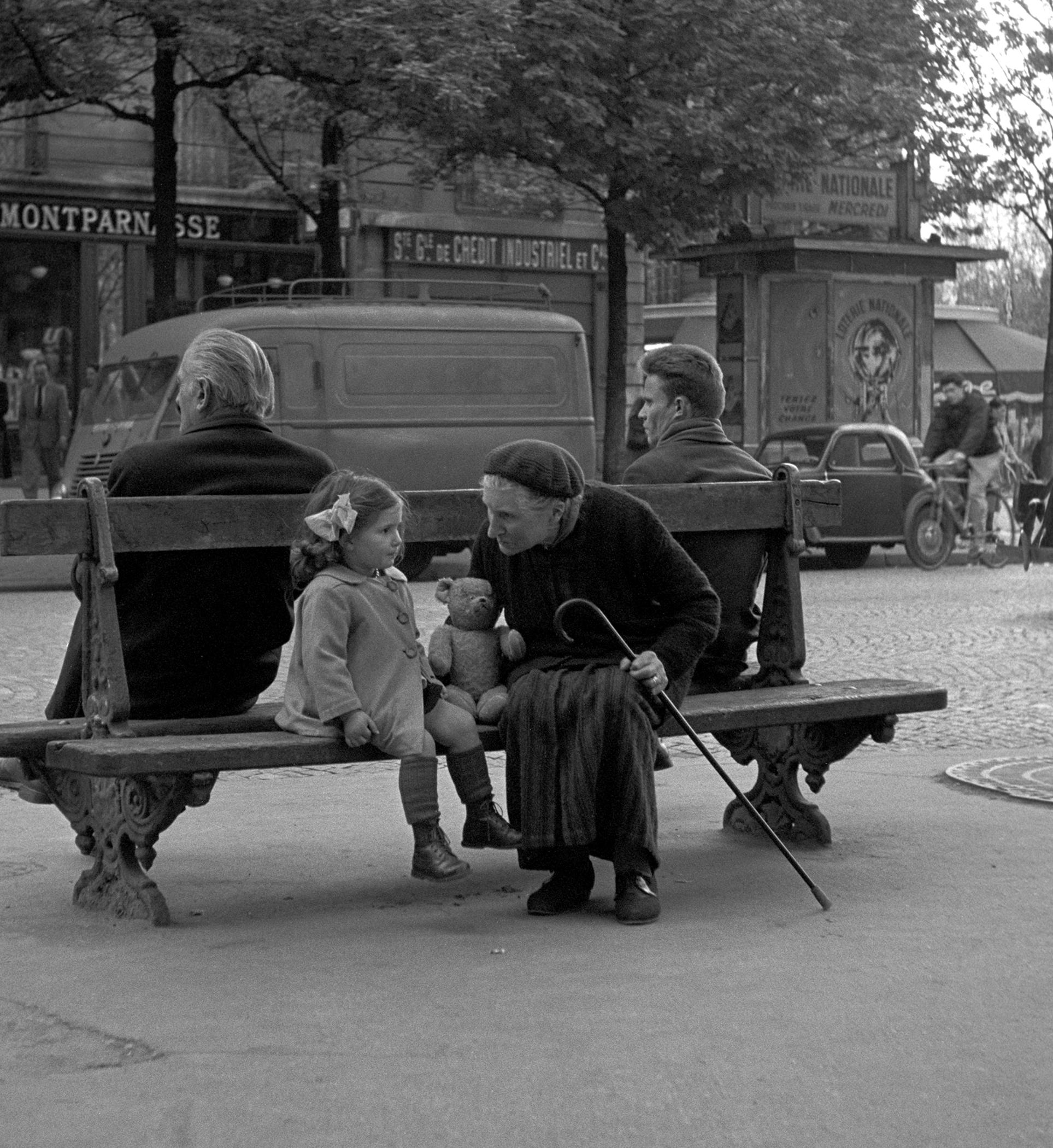 GRANDMOTHER & GRANDDAUGHTER - 1950