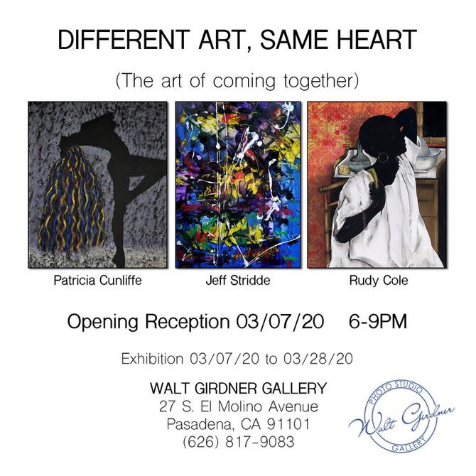 DIFFERENT ART, SAME HEART