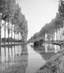 CANAL IN FRANCE - 1960