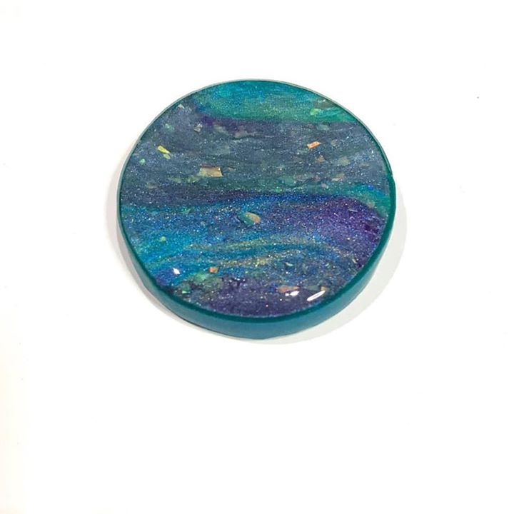 Monet waters polymer pendant