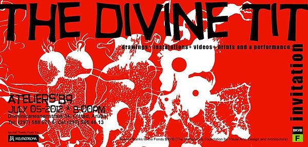 Invitacion Divine Tit, Nelson Gonzalez
