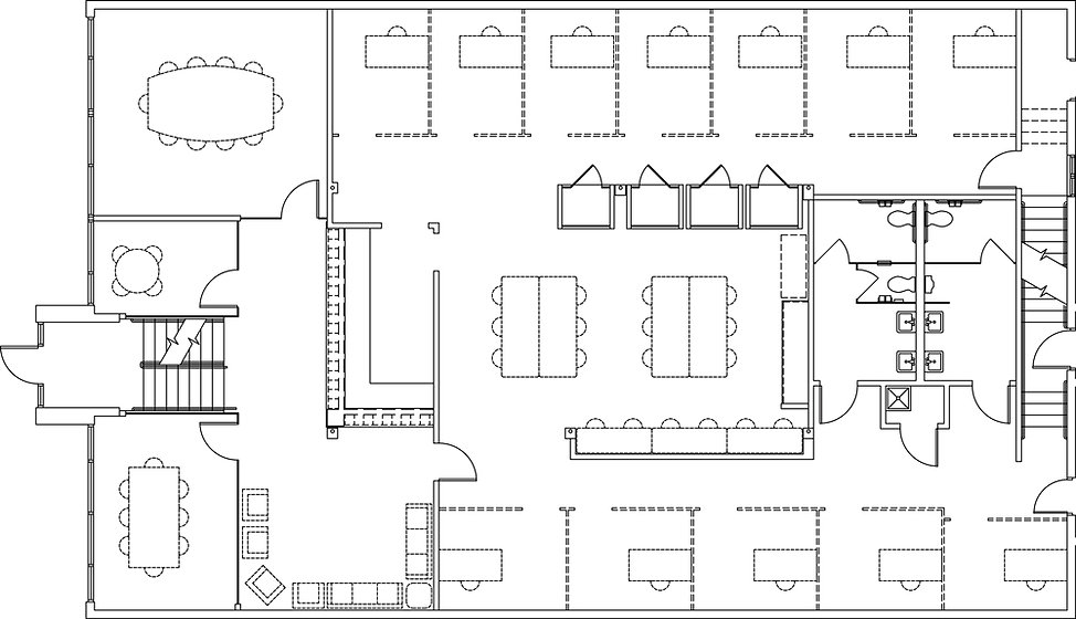 Park Coworking First Floor Plan