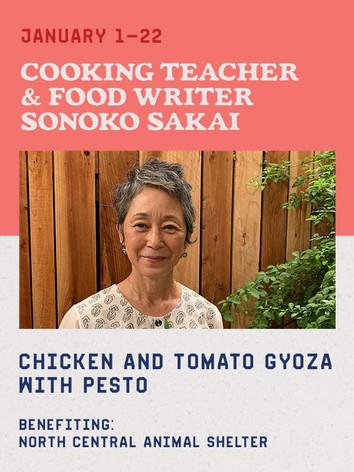 Go Go Gyoza x Sonoko Sakai