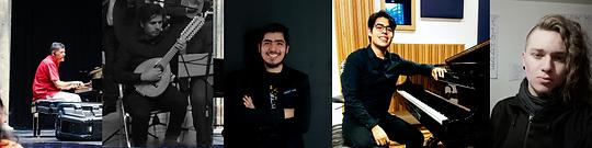 Jóvenes compositores mexicanos del Taller de Electroacústica de la Escuela Superior de Música