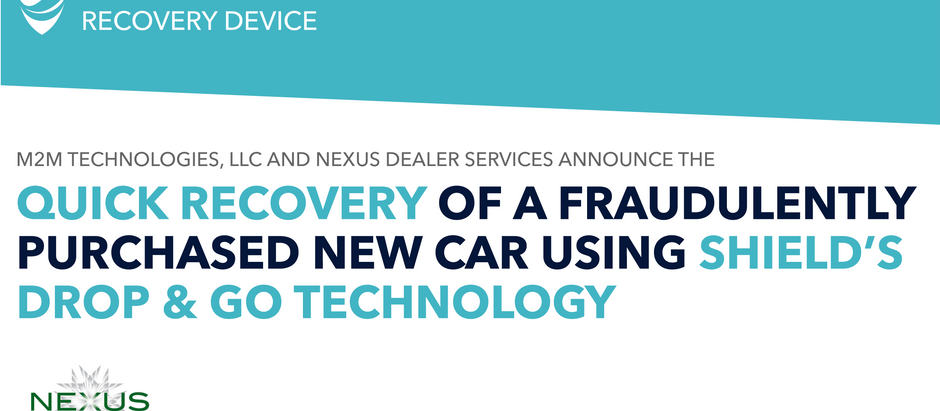 SHIELD ENABLES RECOVERY OF FRAUDULENTLY PURCHASED TOYOTA CAMRY