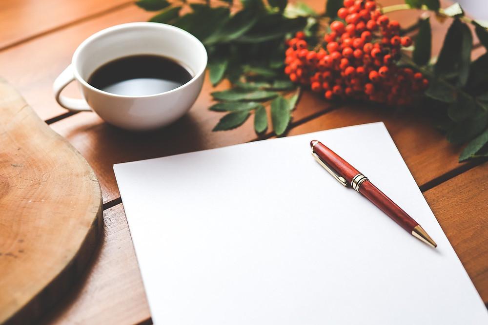 écriture, inspiration