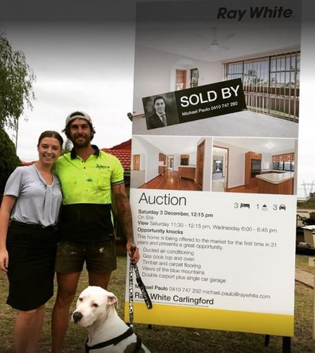 Happy Chardon Home Loans Client