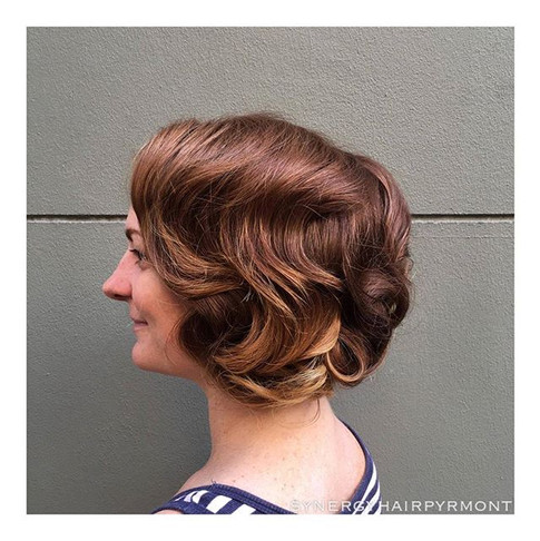 Stunning 1920's inspired styling for a c
