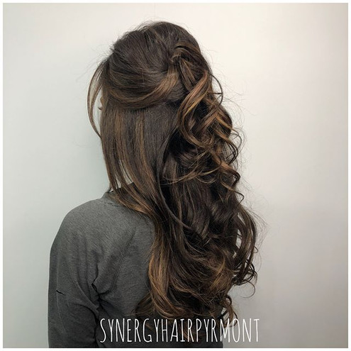 This gorgeous colour & style by _chantal