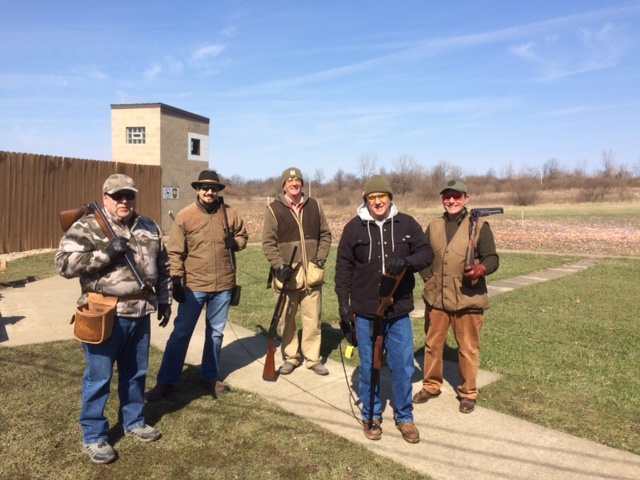 Shooters enjoying a nice day!