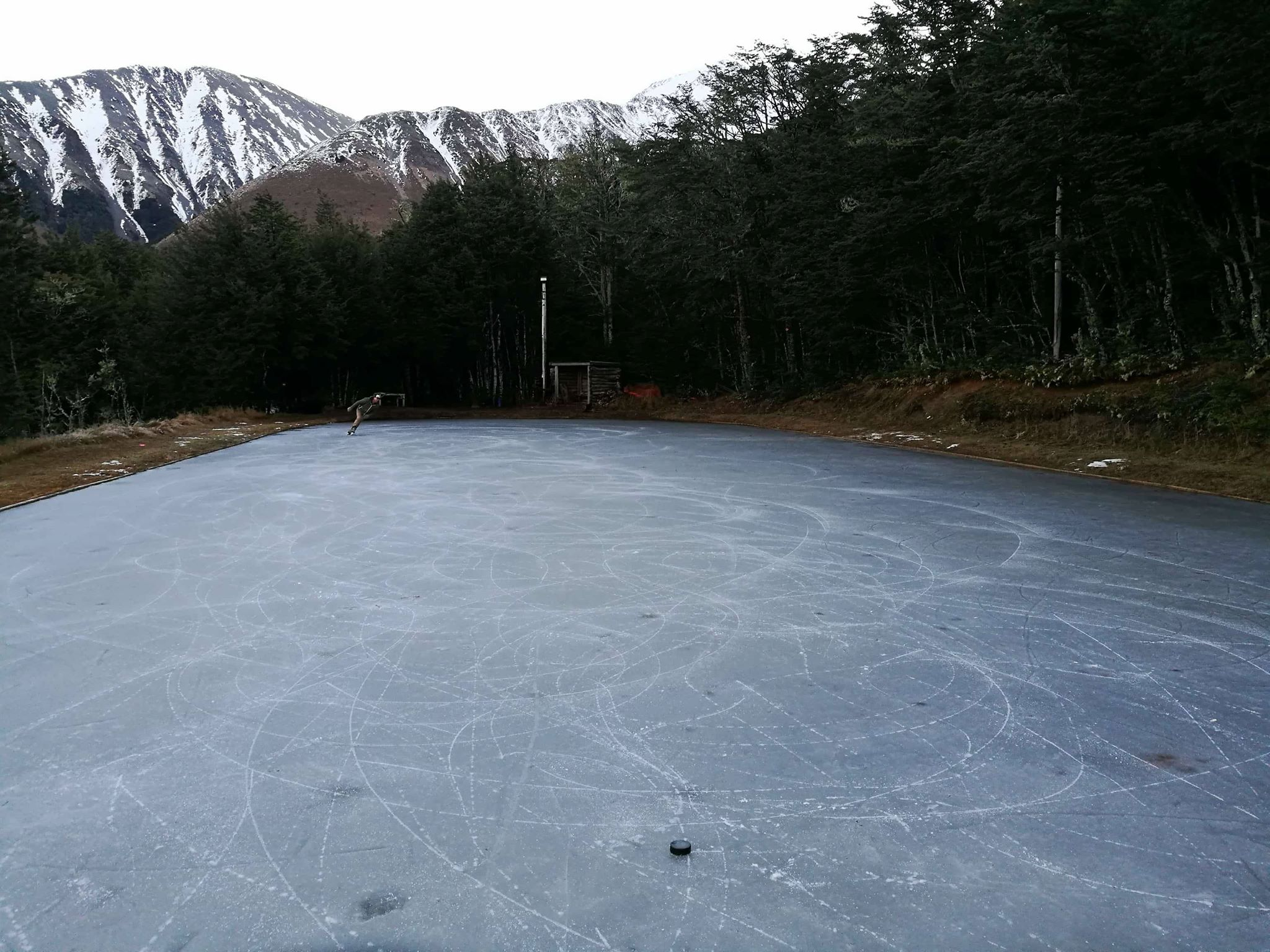 Natural Ice-Skating Rink