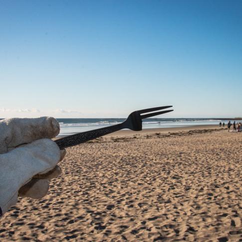 Marine Debris - Plastic Utensils
