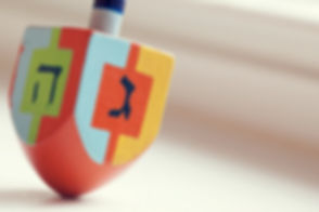 Colorful Dreidel